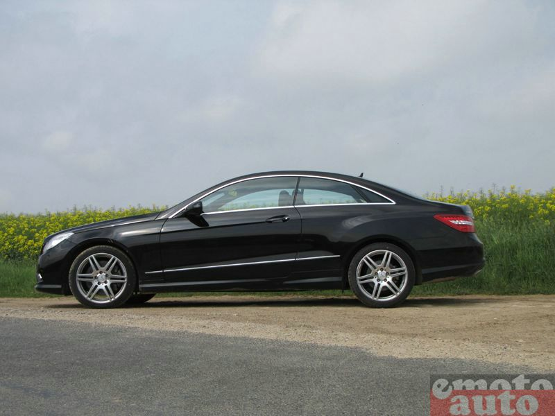 Photo Mercedes E500 Coupé modèle 2009