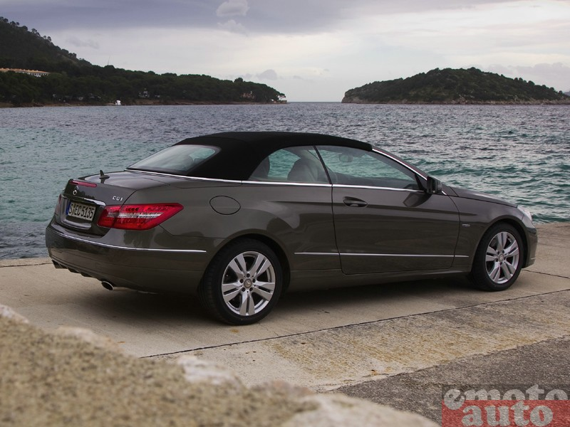 Photo Mercedes E350 CDI Cabriolet modèle 2010