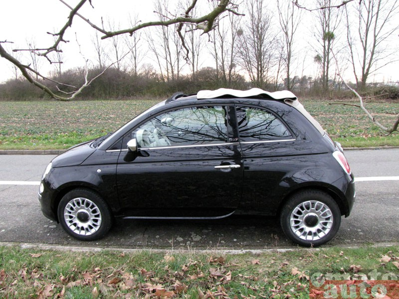 Photo Fiat 500C Twinair modèle 2010