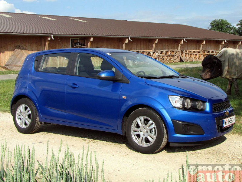 Photo Chevrolet Aveo 1.4 16V 100 modèle 2011