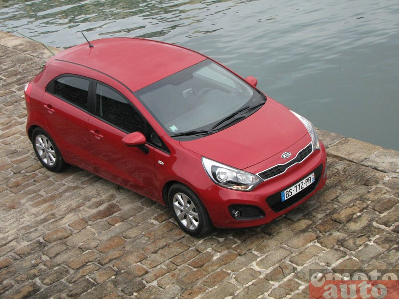 Photo Kia Rio 1.4 CRDI 90 modèle 2011